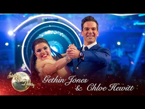 Gethin Jones & Chloe Hewitt Quickstep to the  from the movie Polar Express  Strictly 2016