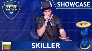 Skiller from Bulgaria - Showcase - Beatbox Battle TV(Watch a exclusive human beatboxing showcase of Skiller the World Champion 2012 from Bulgaria. He showed up his very fast vocal percussion technic on ..., 2015-07-25T17:52:06.000Z)
