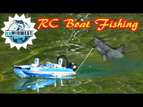 RC Boat Fishing: So Easy A Three Year Can Do It!
