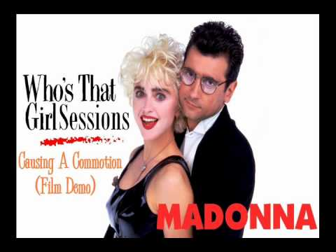 Madonna  Causing A Commotion Film Demo
