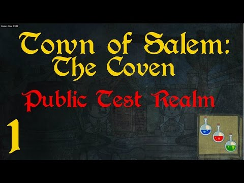 Town of Salem: The Coven (PTR) - 1 - Neue Rollen im Testcent