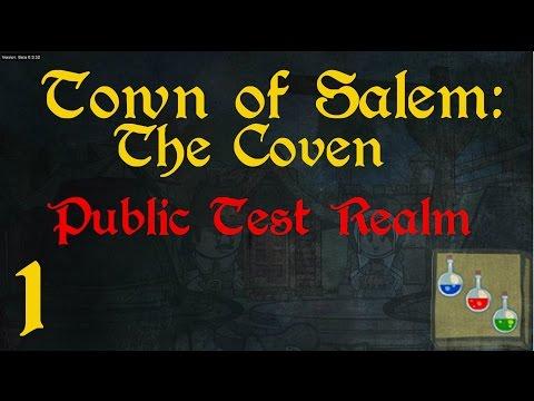 Town of Salem: The Coven (PTR) - 1 - Neue Rollen im Testcenter! [German/Deutsch]