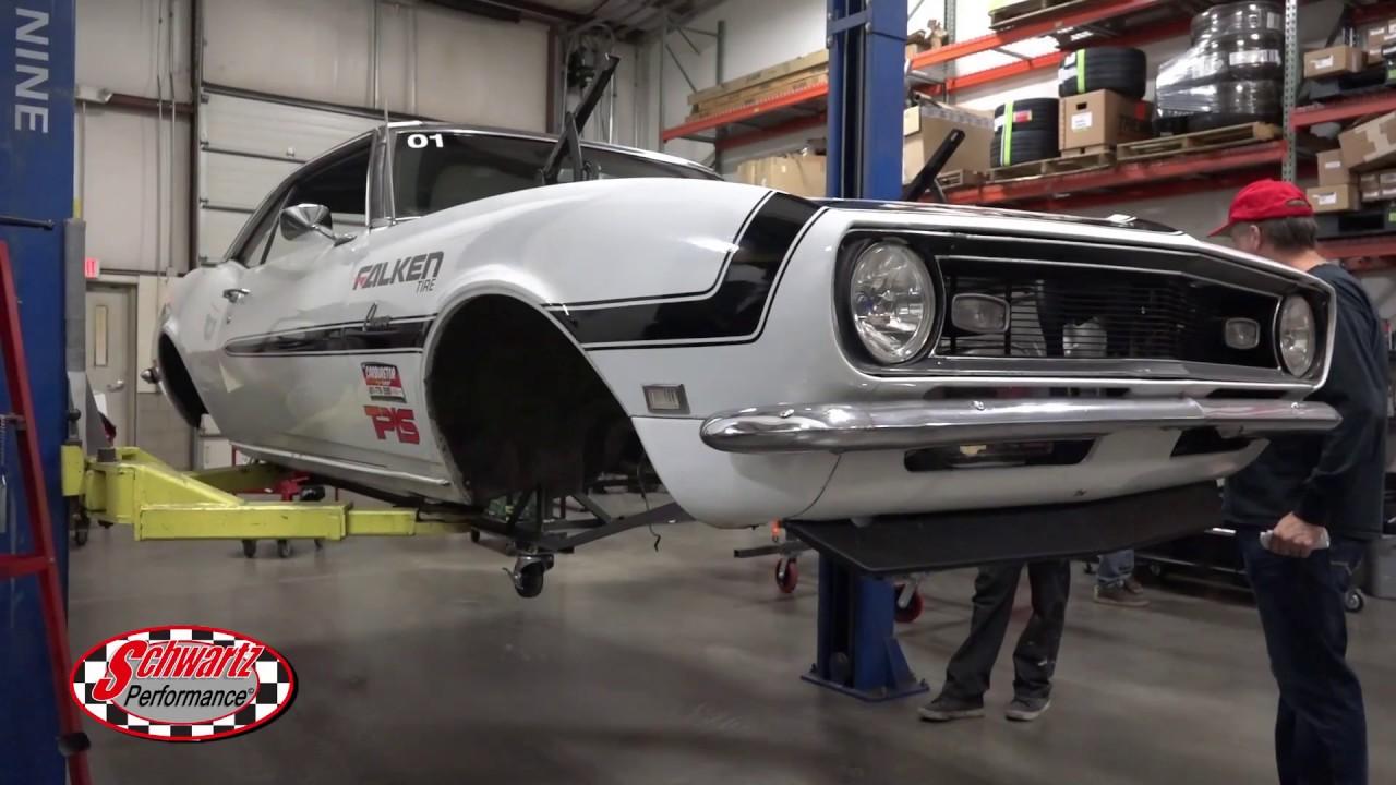Schwartz Performance G-Machine Chassis Install - 1967-1969 F-Body / Camaro  / Firebird