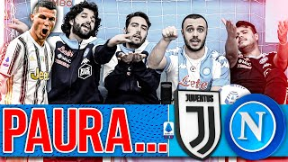 😨PAURA... JUVENTUS 2-1 NAPOLI | LIVE REACTION NAPOLETANI HD