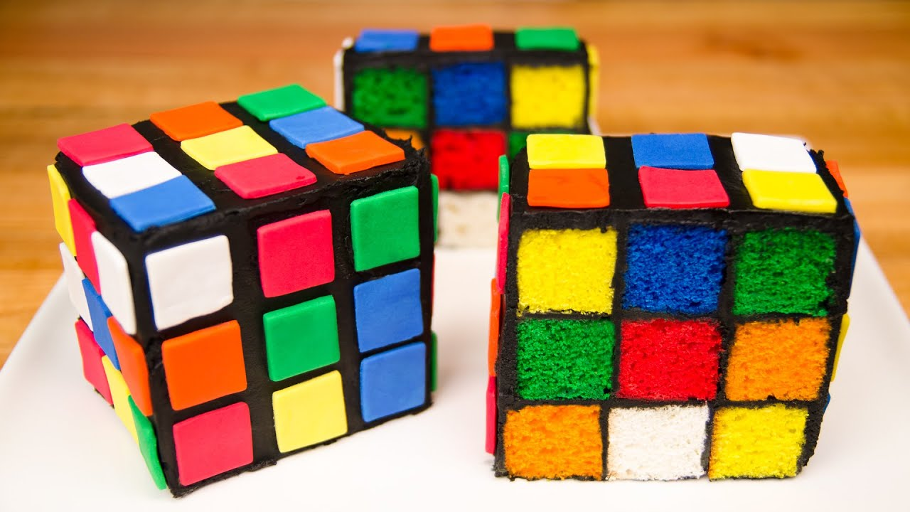 Rubik S Cube Cake From Cookies Cupcakes And Cardio Youtube