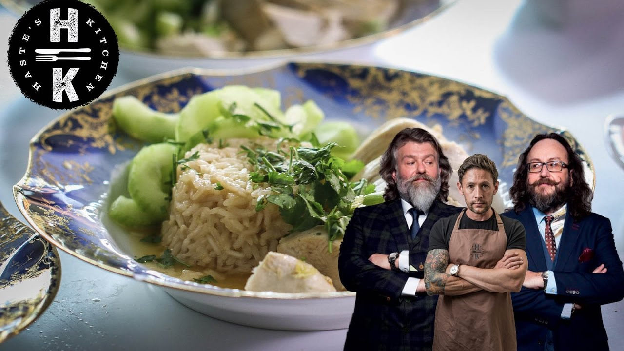 hairy bikers hainanese chicken - youtube