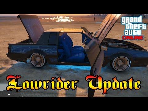 GTA Online Lowrider Update, My Lowrider Gameplay