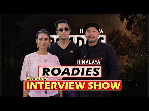 HIMALAYA ROADIES Examiner Interview Show // DEEYA MASKEY,AASIS RANA & LAURE