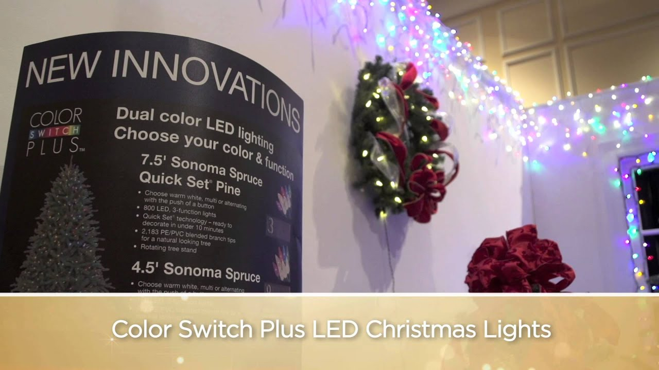color switch plus christmas lights