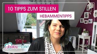 10 Stilltipps für entspanntes Stillen von unserer Hebamme Jenny | babymarkt.de