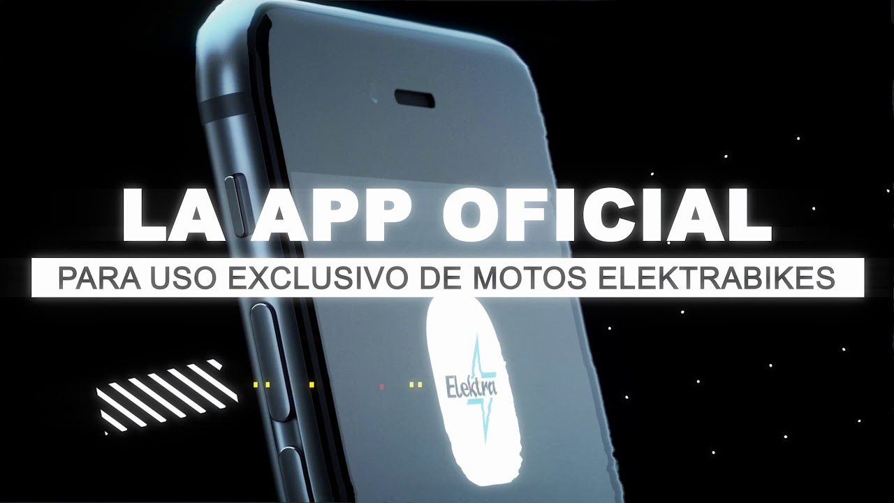 Te presentamos la APP para Smartphones de nuestras motos eléctricas Elektra bikes