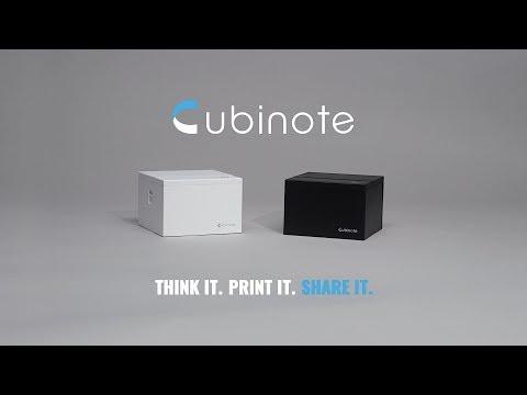 Cubinote Pro Sticky Note Printer + 3 Paper Rolls  | Mashable Shop