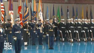 Watch full military farewell to President Obama Free HD Video