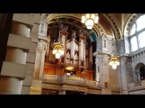 """Walking in the air"" Glasgow Kelvingrove organ cover"