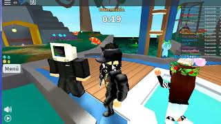my first time playing with my roblox brother with my compa giancaflooz wao