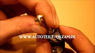 BMW E46 Door Key Lock Repair DIY
