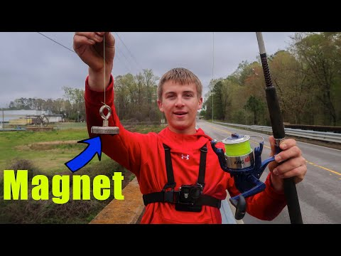 Fishing With A Magnet (Magnet Fishing)