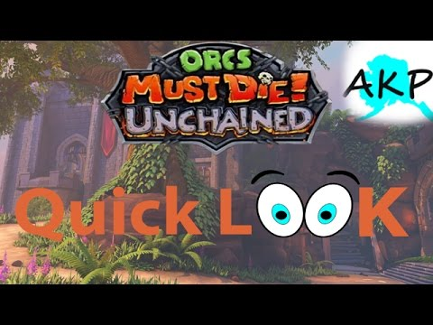 Orcs Must Die! Unchained - Better than Original? - Quick Look