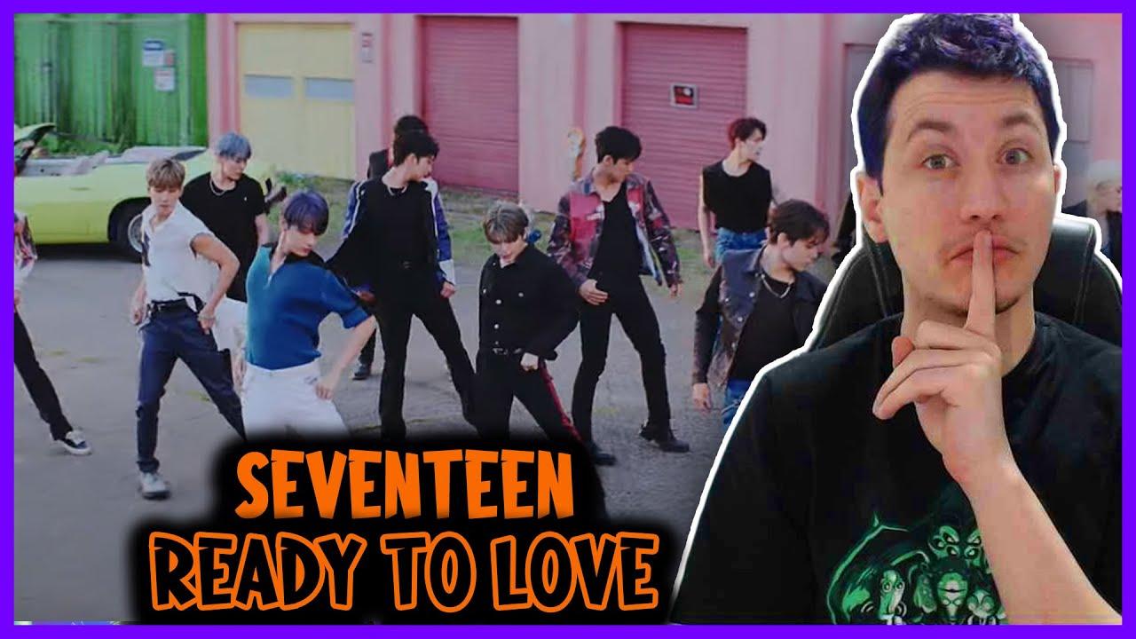 REAGINDO A SEVENTEEN (세븐틴) 'Ready to love' Official MV