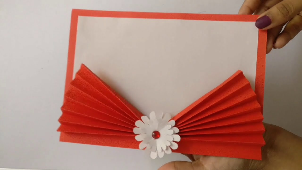 easy and beautiful handmade greeting card for new year