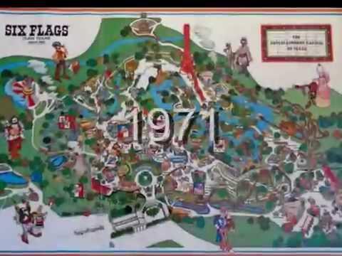 Six Flags Over Texas Digital Short 1968 1971 Youtube