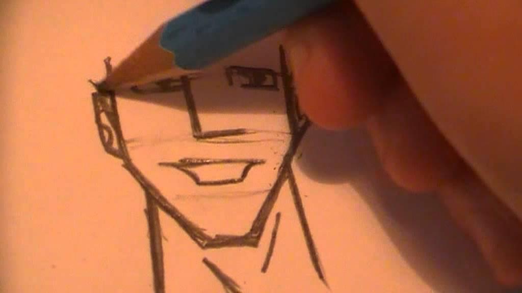 How to draw cartoon face youtube
