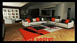 3 lieux secret dans les appartements de luxe gta v online
