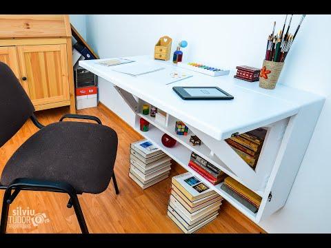 wall-mounted-folding-desk-type-ii---white