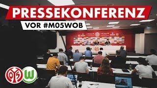 Pressekonferenz vor Wolfsburg | #M05WOB | 05er.tv