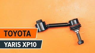 Instalação Barra escora barra estabilizadora traseiro e dianteiro TOYOTA YARIS: vídeo manual