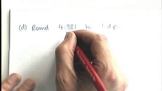 How to - round numbers to 1, two or three decimal places