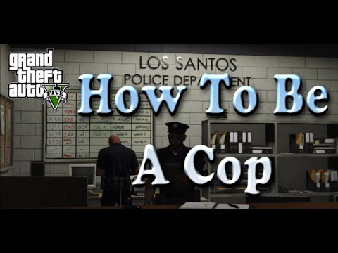 GTA V How To Be A Police Officer Director Mode (PS4)