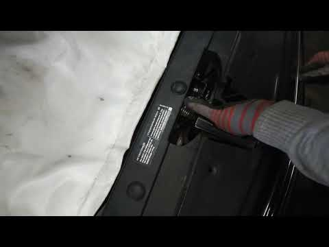 Отрыть капот Шевроле Круз если порвался тросик