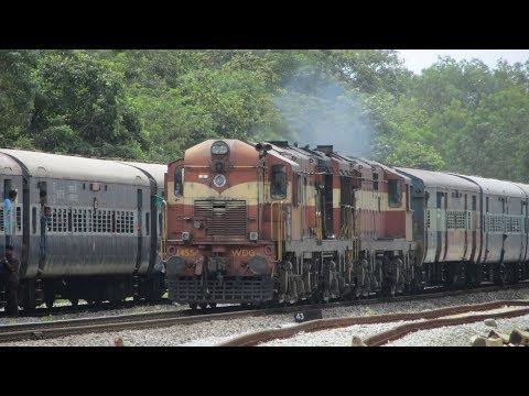 Goa to Hyderabad: Arabian Sea, Dudhsagar Falls, Western Ghats and Deccan Plateau