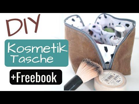 DIY Kosmetiktasche selber nähen +VERLOSUNG | mit kostenlosem Schnittmuster