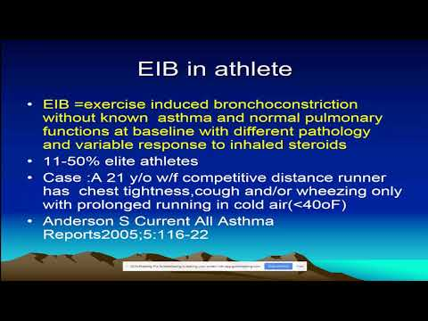 Exercise-induced bronchoconstriction (Randolph)