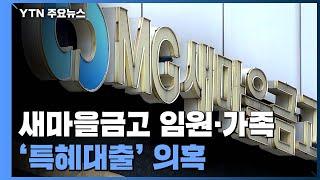 새마을금고, 전·현직 임원에 특혜성 대출 의혹...자체…