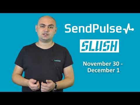 Meet SendPulse at Slush Conference in Helsinki