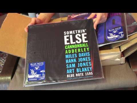 BlueNote reissue pt1 MusicMatters Unboxing