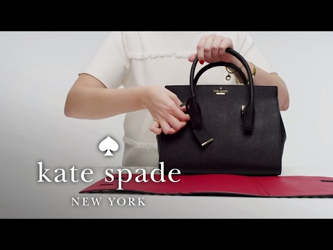 how to personalize your bag: the candace satchel | kate spade new york