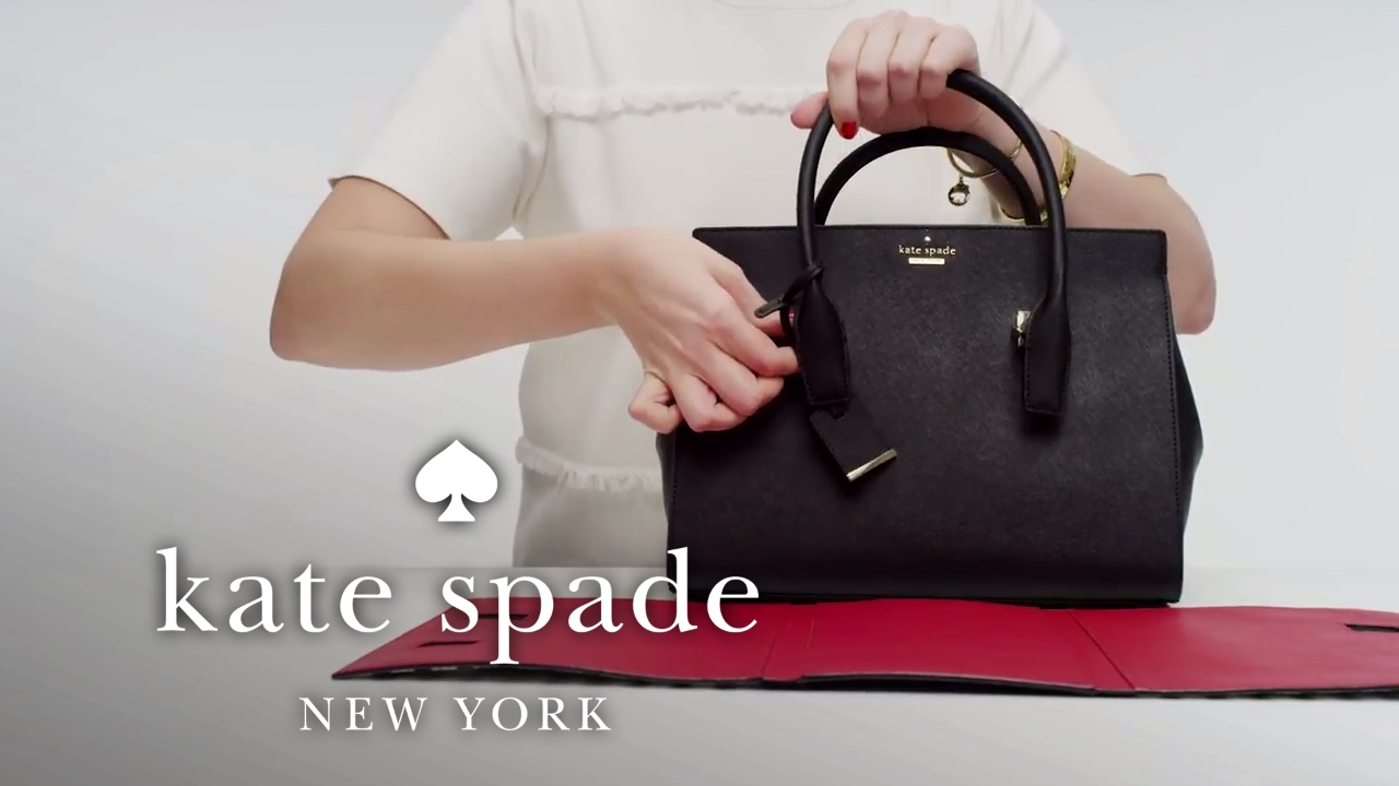 How To Personalize Your Bag The Candace Satchel Kate Spade