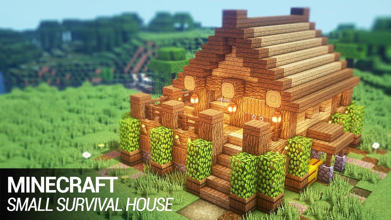 Easy Small House Survival Build Minecraft Amino
