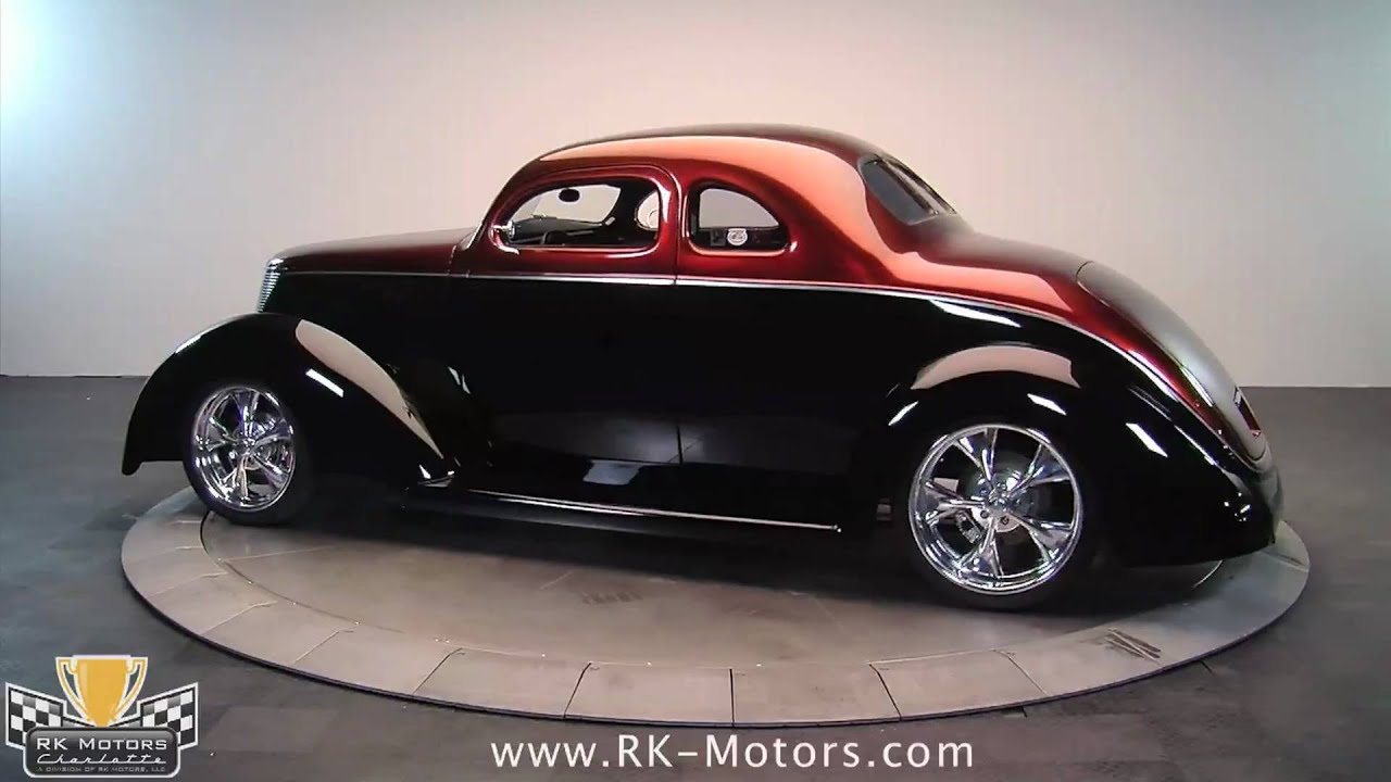 132195 1937 Ford 5 Window Coupe Youtube