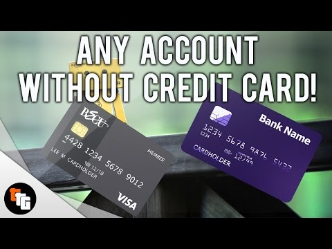 How to make Any Account without a Credit Card! from YouTube · Duration:  4 minutes 32 seconds