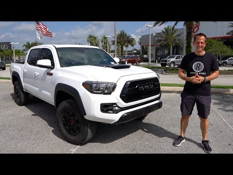 Is the 2019 Toyota Tacoma TRD Pro the KING of midsize TRUCKS?