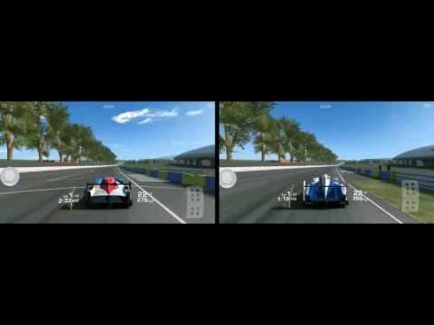 Real Racing 3 RR3 Nissan GT-R LM Nismo Vs. Toyota TS040