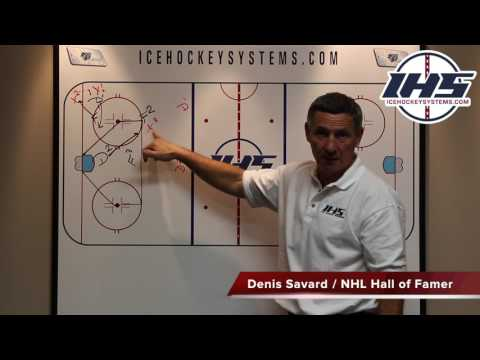 Defensive Zone Coverage explained by Denis Savard