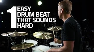 One Easy Drum Beat That Sounds Hard