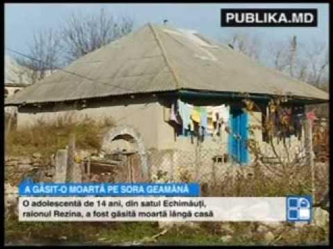 Tragedie în Rezina: O tânără de 14 ani, găsită moartă de sora geamănă