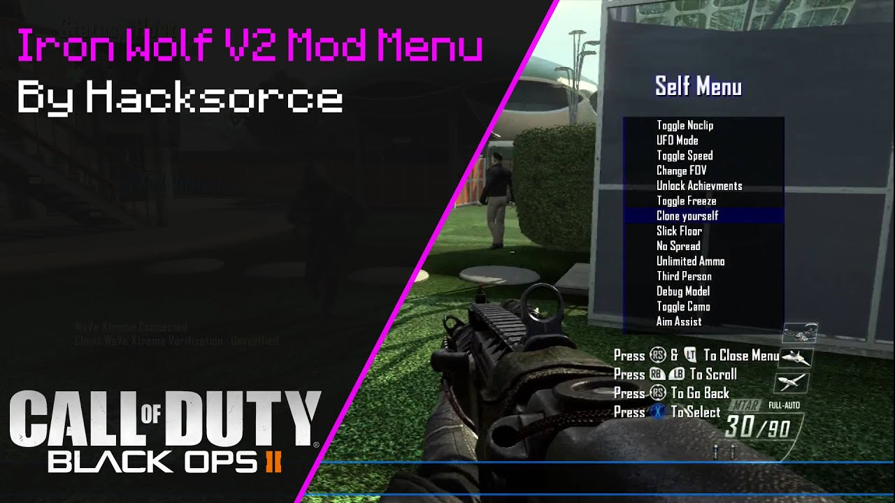 Xbox 360 - {Free}Iron Wolf v2 TU18 Mod Menu | Se7enSins Gaming Community